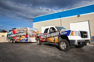 custom cohesive vehicle graphics